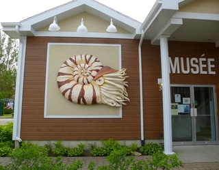 Fossil museum in Temiskaming area
