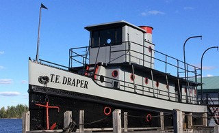 The tugboat T.E. Draper