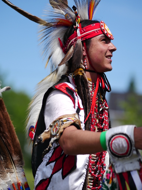 Pow wow Timiskaming First Nation